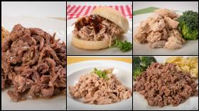 28oz case mixed meats