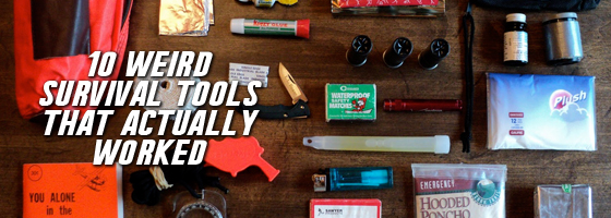 10 weird survival tools that actually worked